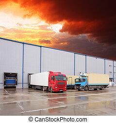 Camión, transporte