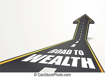 Camino a la riqueza