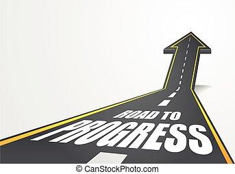 Camino al progreso