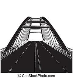 Camino al puente