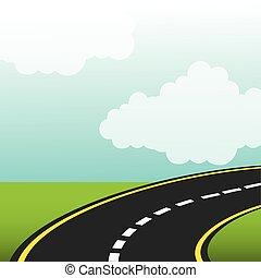 camino, carretera