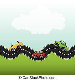 Camino de carretera