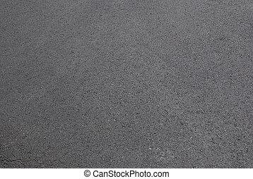 camino, fresco, nuevo, asfalto