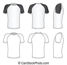 Camisa de mangas Raglan
