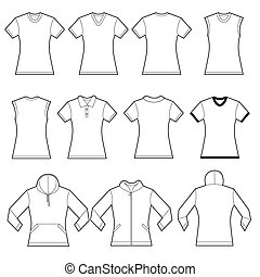 Camisas femeninas