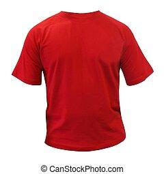 Camiseta de deporte rojo