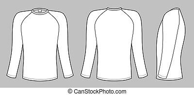 Camiseta de manga Raglan