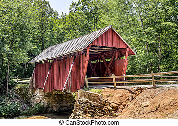 campbells, puente, cubierto