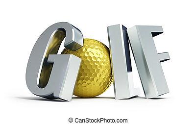 campeonato, golf