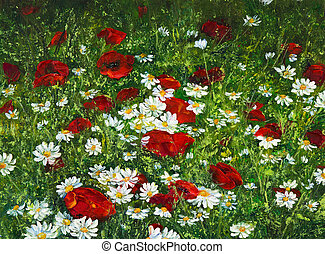 Campos de flores