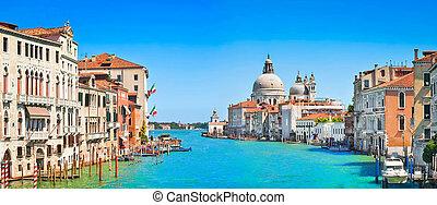 canal, italia, grande, venecia
