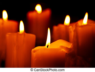 candlelight, tibio