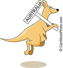 canguro, australia