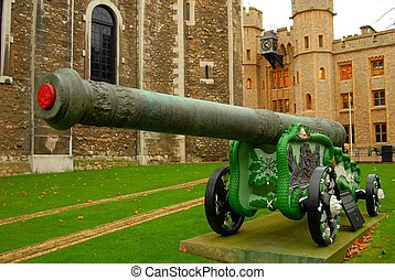 canon, torre, londres