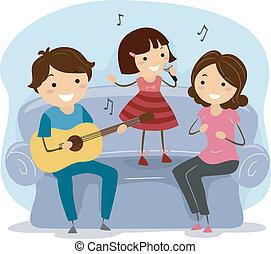 Cantando a la familia