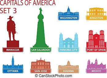 Capitales de América