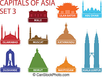 Capitales de Asia