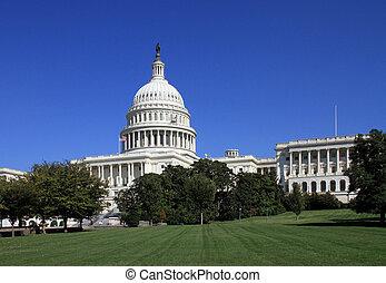 Capitol construyendo en Washington, DC