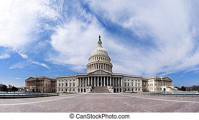 Capitol de EEUU, edificio del gobierno