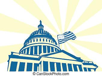 capitolio, estados unidos de américa