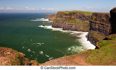 Captura de los acantilados de Moher, Irlanda