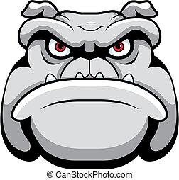 Cara de bulldog