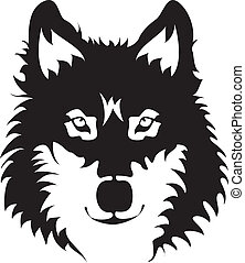 Cara de lobo