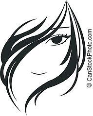 Cara de mujer