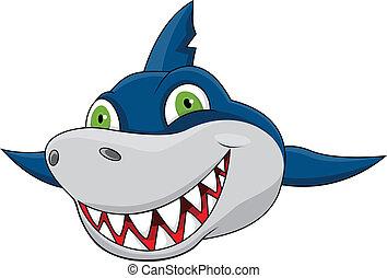 Cara de tiburón