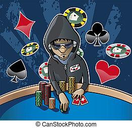cara póker