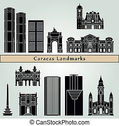 Caracas V2 puntos de referencia