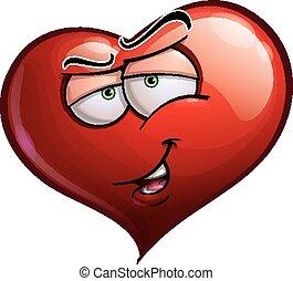 Caras de corazón