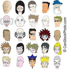 Caras de icono