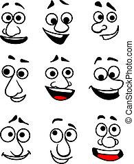 Caras emocionales