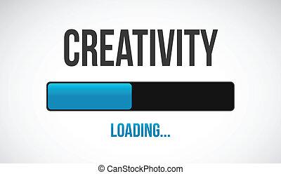 carga, diseño, ilustración, creativo