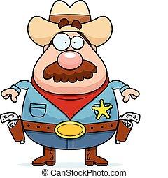 caricatura, alguacil