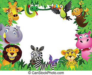 caricatura, animal