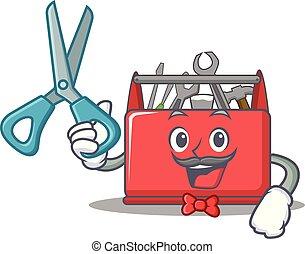 Caricatura de caricatura de cartón de cartón