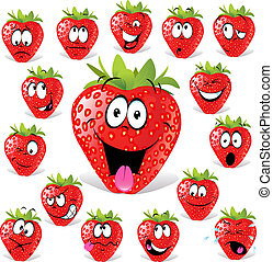 caricatura, fresa