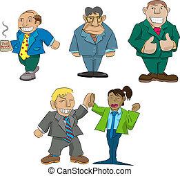Caricaturas de oficina