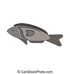 Caricaturas de pescado