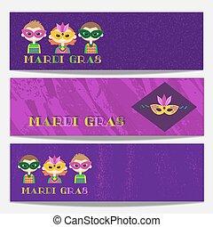 Carnaval de máscaras para niños