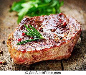 Carne. Filete a la parrilla