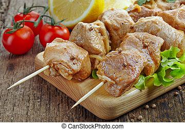 Carne marinada marinada de cerdo
