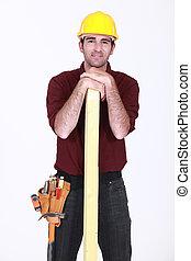 Carpenter estaba con madera