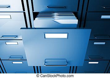 carpeta, archivador