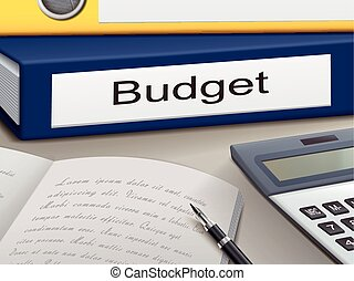 carpetas, presupuesto