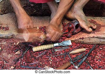 carpintería, handcraft