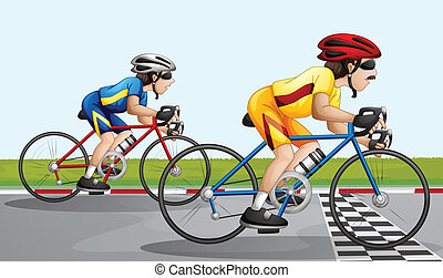 carrera, biking