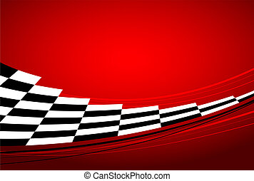 carreras, plano de fondo